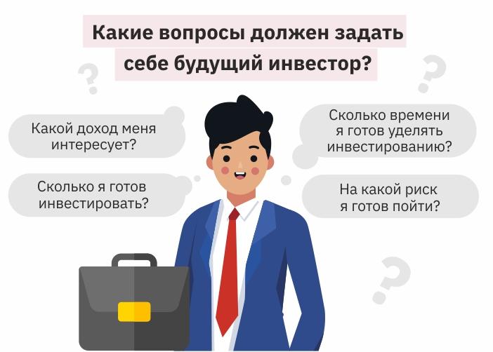 вопросы перед инвестированием