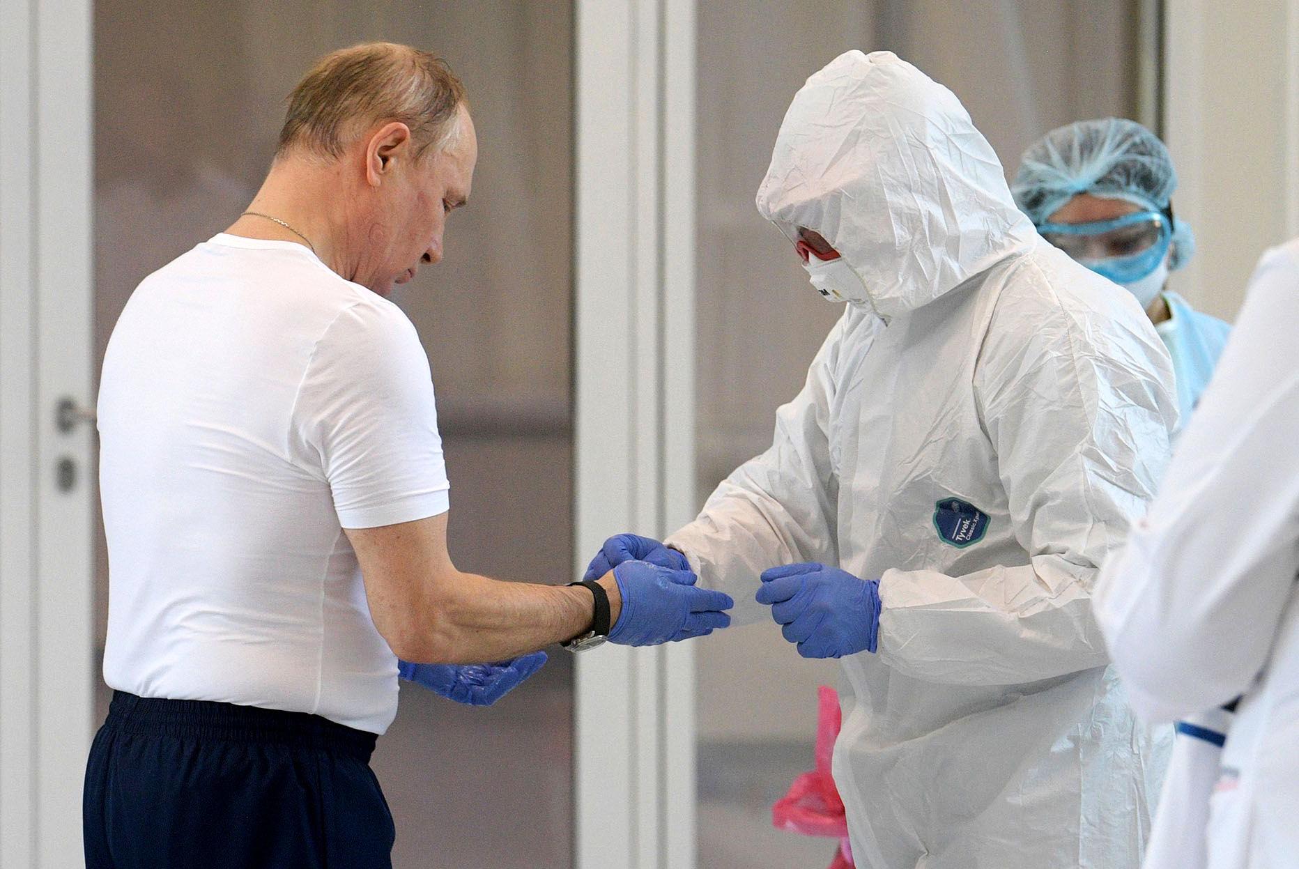 Путин: осенью возможна вторая волна коронавируса в России
