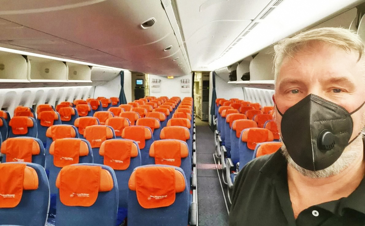 В апреле пассажиропоток Аэрофлота снизился на 95%