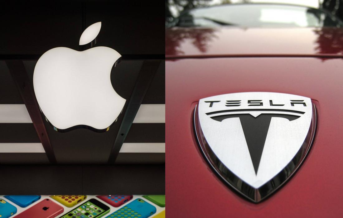 Акции Apple и Tesla идут вверх из-за сплита