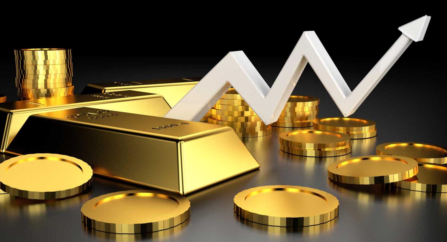 Цена на золото растет из-за пессимизма в связи с коронавирусом
